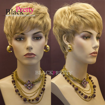 Fashion Blonde Short Wigs Pixie Cut Hairstyle For Women Short Black Blonde  Wigs Heat Resistant Blonde Wigs on Aliexpress.com  731454475