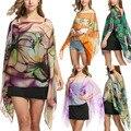 Fashion Women Sunscreen Soft Chiffon Scarf Scarves Long Neck Wraps Beach Shawl Summer