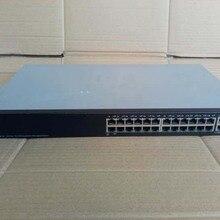 Б/у SF500-24 24 Мбит/с+ 2 порта гигабитный+ 4 волоконный порт 3 слоя Стекируемый переключатель управления