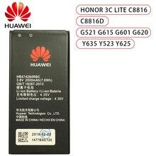 3.8V 2000mAh HB474284RBC For Huawei Honor 3C Lite C8816 C8816D G521 G615 G601 G620 Y635 Y523 Y625-U32 Y625 Y625-U51 Battery