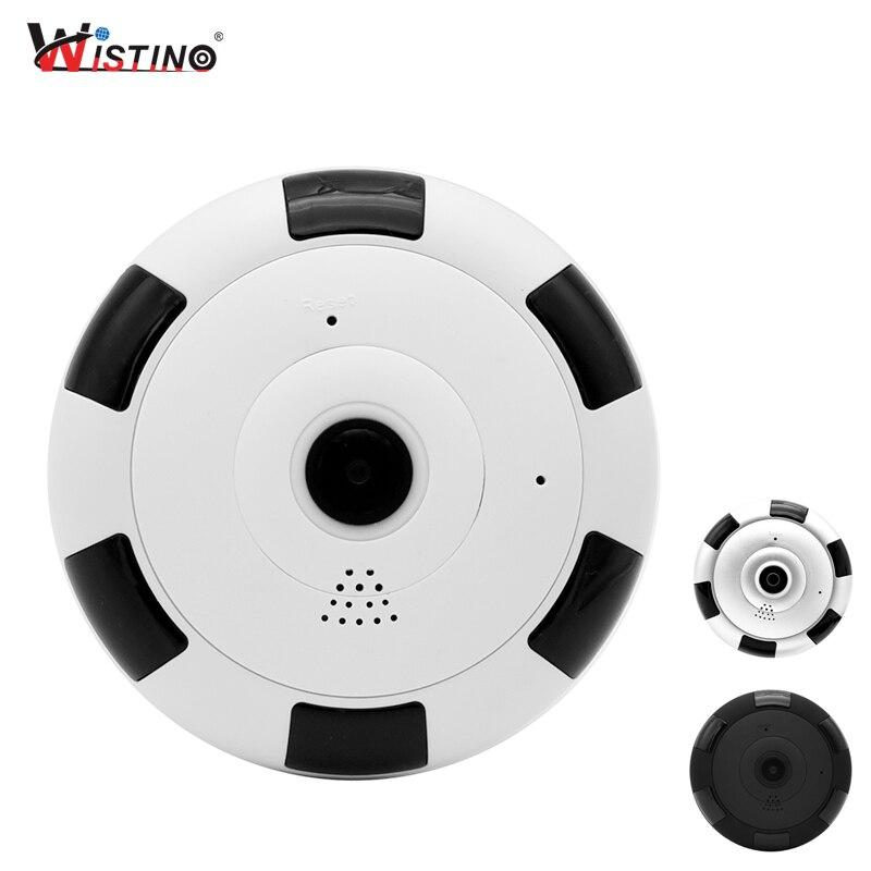 Wistino HD 960 P WIFI Ip-kamera 1080 P CCTV 360 Grad Fisheye Wireless Baby Monitor Video VR Panorama Überwachung kamera P2P