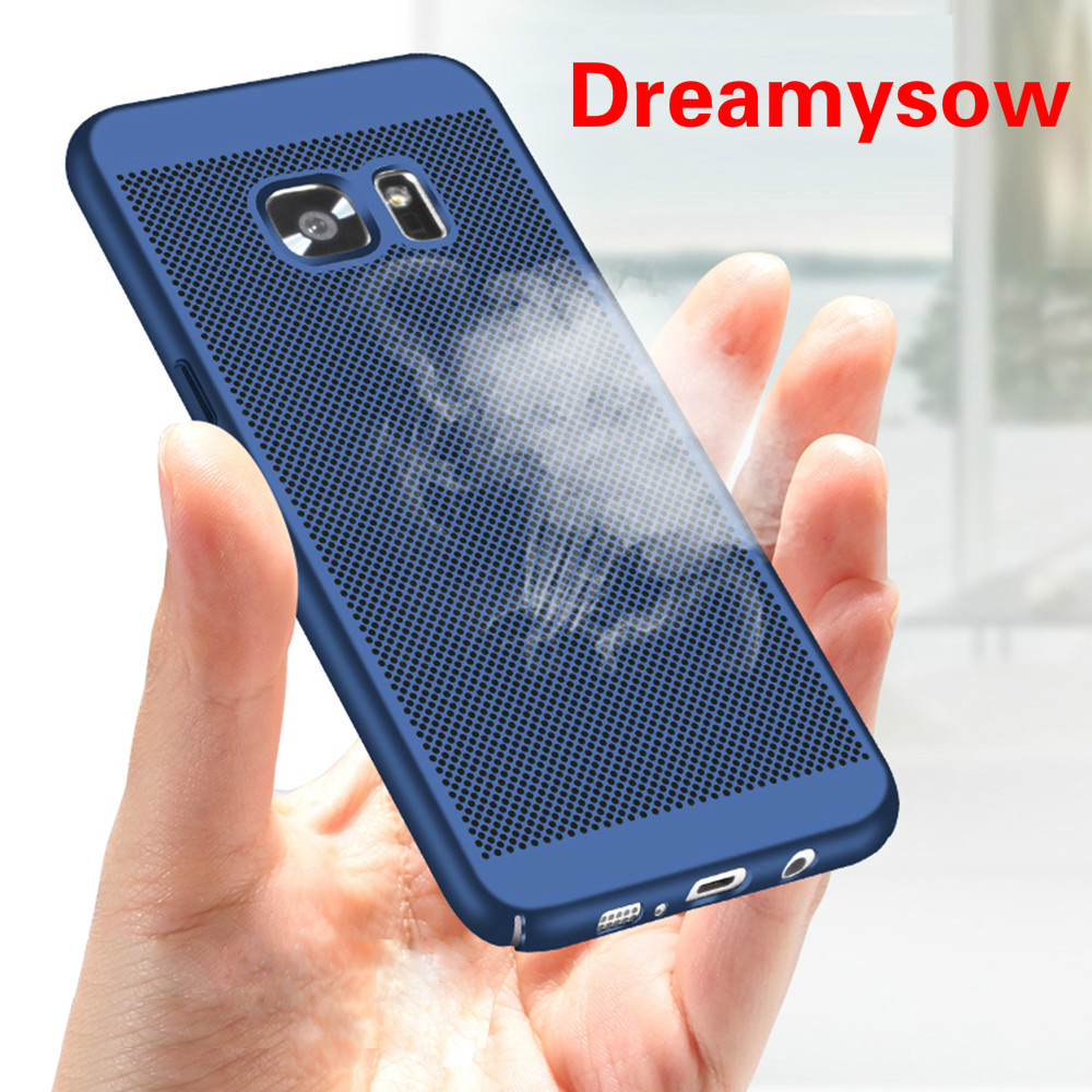 2e5d0f2e89a Cooling Phone Case For Samsung Galaxy A3 A5 A7 2016 2017 J5 J7 Prime S5 S6  S7 edge