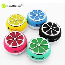 Newrixing Portable Mini Bluetooth font b Speakers b font lemon shape Wireless Smart Hands Free Cute
