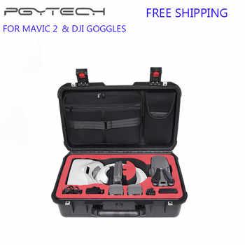 PGYTECH Waterproof Case DJI Mavic 2 Suitcase Waterproof Carry Bag for Mavic 2 Pro/Zoom & DJI Goggles Drone Accessories - Category 🛒 Consumer Electronics