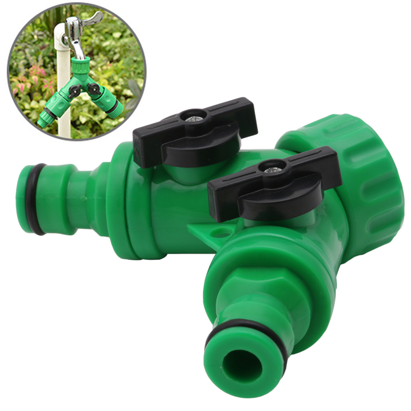 Garden Way Adapter Y Tap Connector Fitting Switch Irrigation - 2 way switch fitting