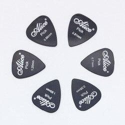 6 шт. гитара Alice выбирает в 1 цвет полная толщина 0,58 0,71 0,81 0,96 1,2 1,5 мм черный/белый/желтый/красный/зеленый/синий/оранжевый