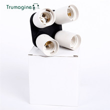 TRUMAGINE 4 in1 E27 Socket Base Lampada Della Luce Socket Adattatore Portalampada Fotografia Accessori Studio Per Studio Softbox