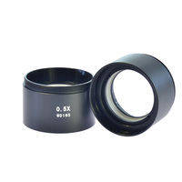 0.5X WD165 SZM Auxiliary Objective Lens Zoom Stereo Microscope Thread 48mm Binocular Microscope Trinocular Microscope 1Pcs
