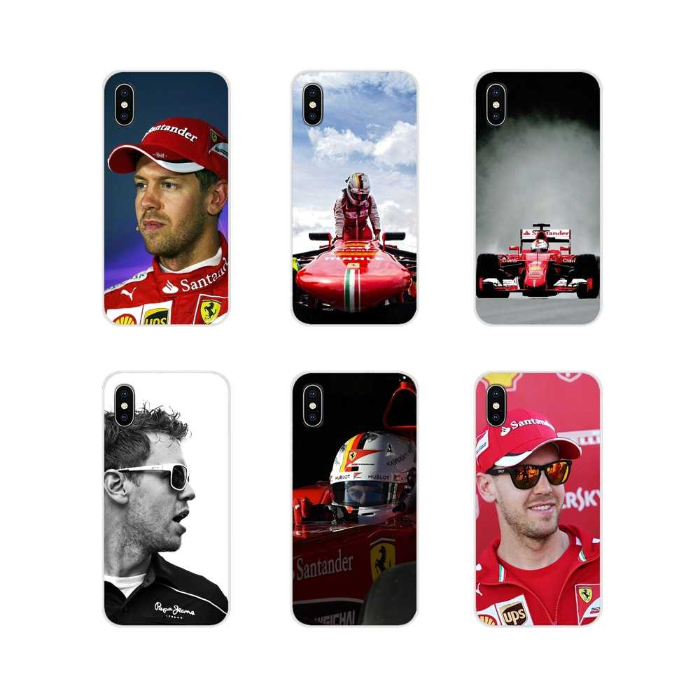 Sebastian Vettel For Samsung Galaxy A5 A6S A7 A8 A9S Star J4 J6 J7 J8 Prime Plus 2018 Accessories Phone Cases Covers