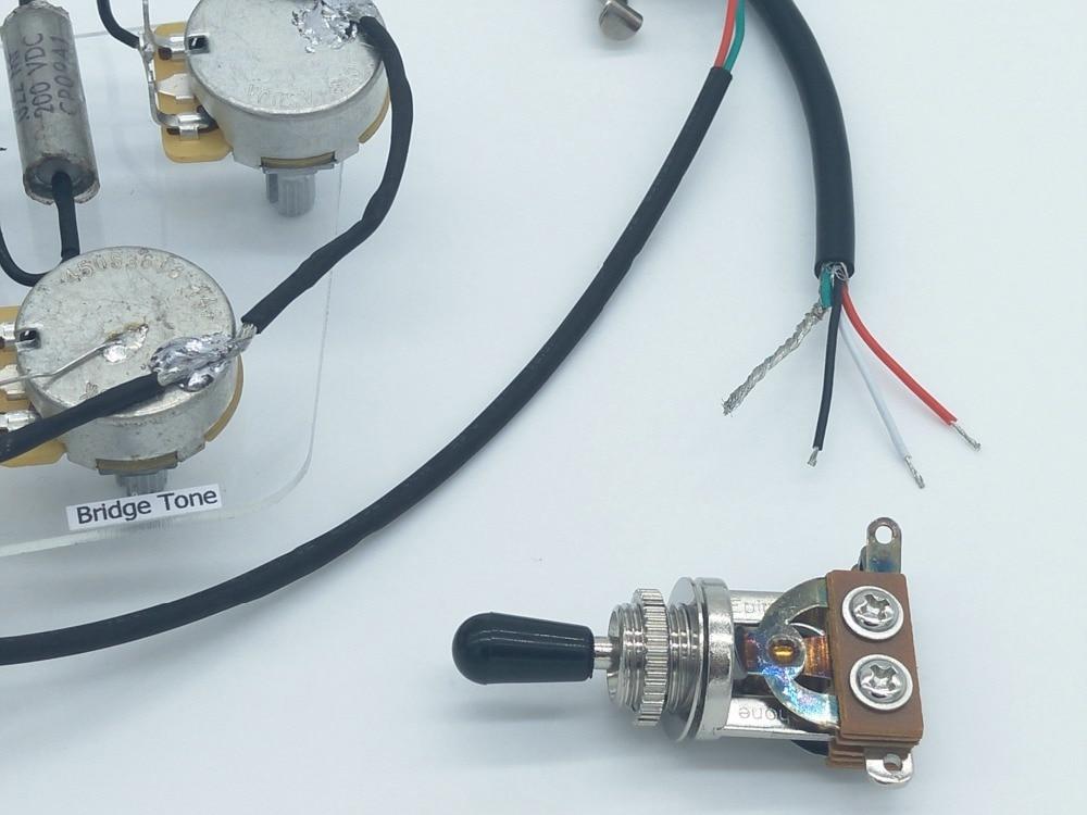 Electric Guitar Pickup Wiring Harness , Guitar Pickups Wiring ...