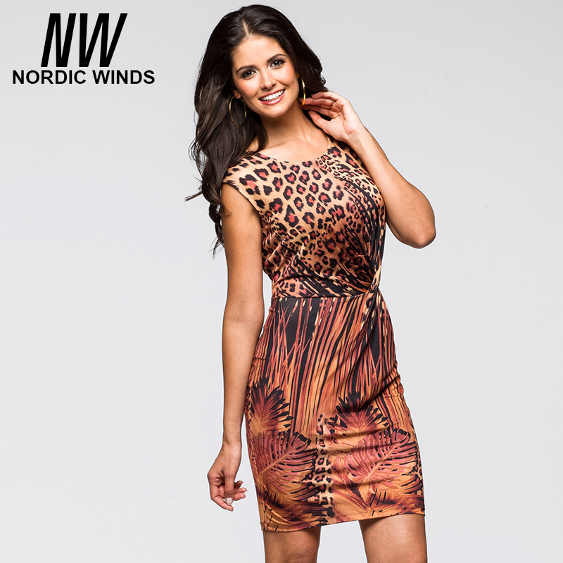 Popular Leopard Print Cocktail Dresses-Buy Cheap Leopard Print ...