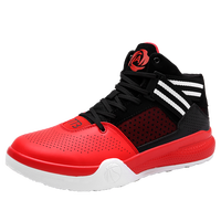 2017 Hot Sale Basketball Shoes For Men Boys High Top Basketball Boots Lace Up Basket Shoes