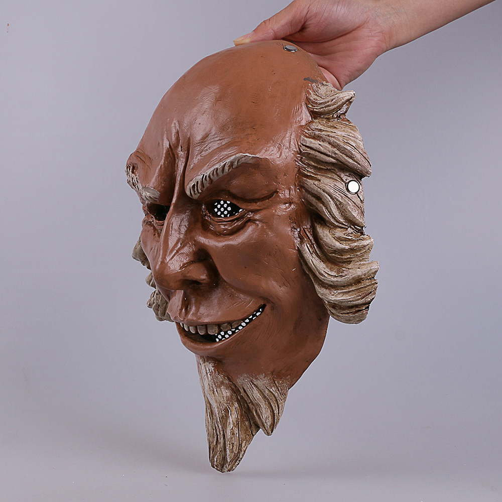 Cos The Purge 3 Mask Cosplay Калеб Уоррен Old Man Mask - Костюмдер - фото 5