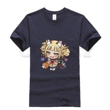 2019 new T-shirt Round neck ahegao himiko toga Leisure shy girl sexy comics Summer dress men tee clothing cos play Cute Clothing