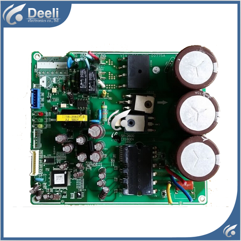 95% new Original for air conditioning computer board DB93-08388X-LF DB91-00856A PCB-00775A board wire universal board computer board six lines 0040400256 0040400257 used disassemble