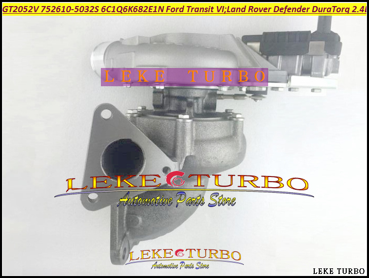 Turbo GT20 752610 752610-5032S 752610-0015 YC1Q6K682AE 6C1Q6K682EM For Ford Transit 6 For Land Rover Defender DuraTorq 2.4L TDCi  цены