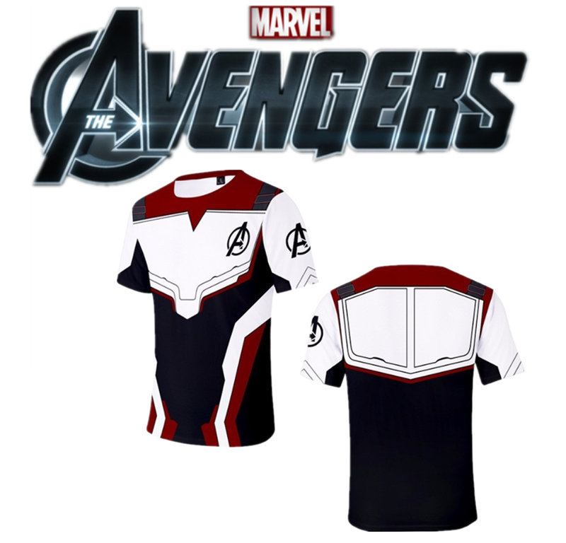 Avengers T Shirt Endgame Shirts Superhero Avengers Clothing Captain America 3D Clothes Kids Clothings Avenger Clothes Marvel