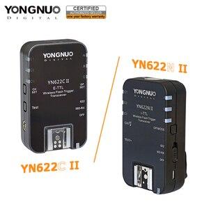 Image 1 - YONGNUO YN622C השני YN 622N השני 2.4GHz פלאש משדר Speedlite טריגר עבור Canon ניקון w/ HSS TTL מרובה סנכרון מצב פונקציה