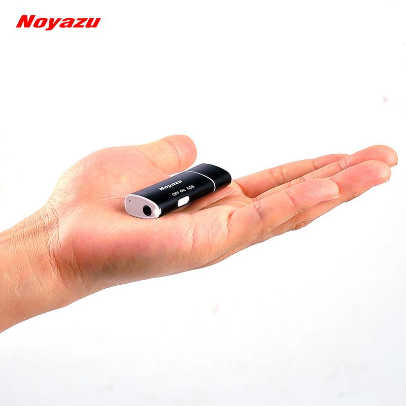 NOYAZU V17 Smallest 8GB Voice Activated Digital Audio Voice Recorder Audio Recording USB Portable Small Mini Recorder Mp3 Player