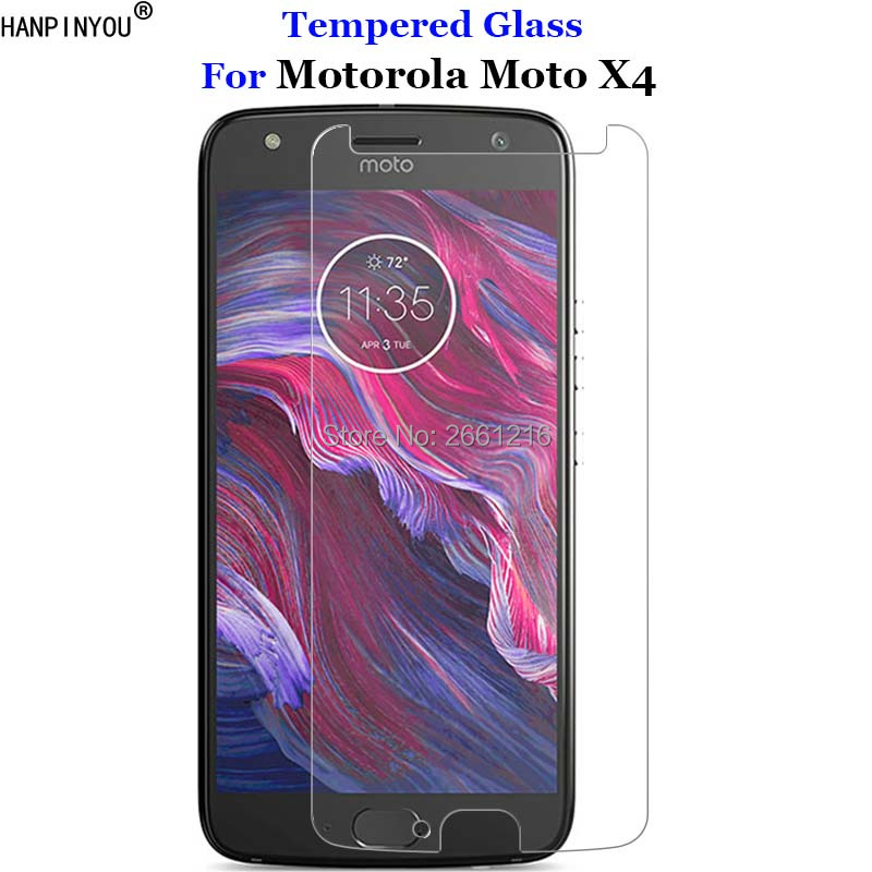 For <font><b>Motorola</b></font> <font><b>Moto</b></font> X4 Tempered Glass 9H 2.5D Premium Screen Protector Film For <font><b>Motorola</b></font> <font><b>Moto</b></font> X 4th Gen 2017 <font><b>XT1900</b></font> 5.2