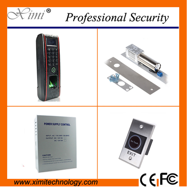 Free software ZK high quality 3000 fingerprint user TCP/IP RS232 RS485 biometric door lock IP65 fingerprint access control zk f7 tcp ip or rs232 and rs485 biometric finger print door access controller zk teco f7 high speed time recorder with software