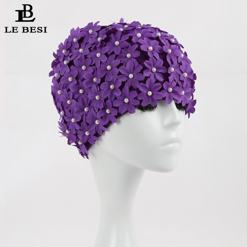 ộ_ộ ༽Lebesi solid flor pearlswimming CAPS alta calidad cubierta ...
