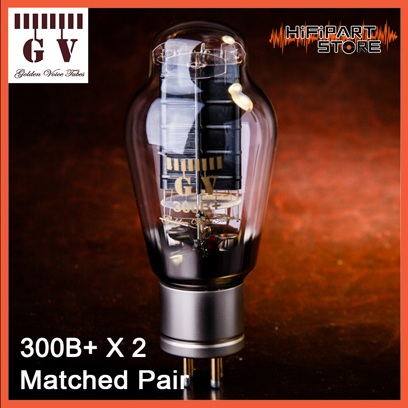2pcs Golden Voice GV 300B Matched Pair Tube amplifier accessories Repalce Psvane Shuguang JJ GOLD LION