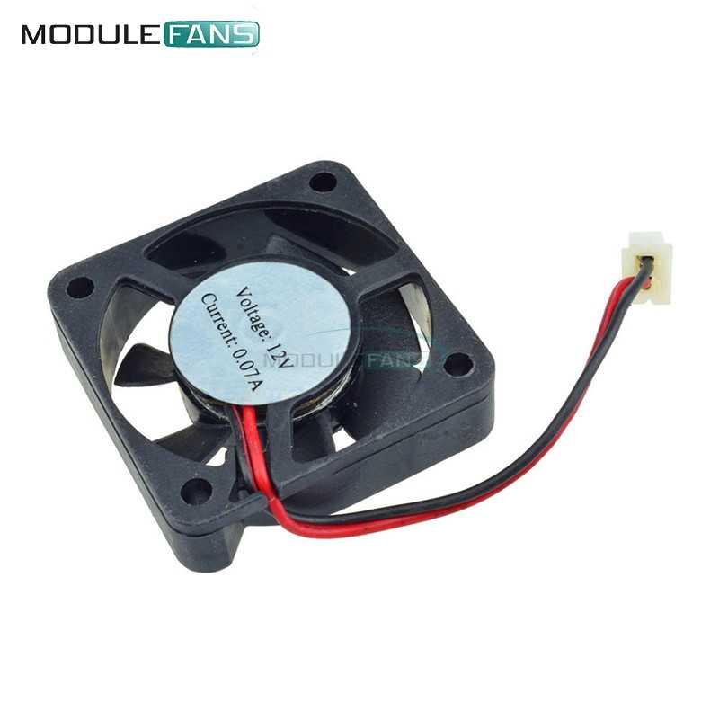 Preto 2 Pin 12 4010 V Brushless DC Fan PC Cooler Fan Para Raspberry Pi Arduino Reprap Rampas 3D impressora 40mm x 10mm
