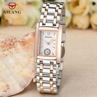 AILANG Fashion Vintage Women Watches Quartz Full Steel Bracelet Watch Elegant Lady Business Dress Wrist Watch Analog Reloj A111