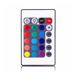 Image 4 - 4 pcs/et 7 צבע LED רכב פנים תאורה ערכת רכב סטיילינג פנים קישוט אווירת אור ואלחוטי מרחוק שליטה