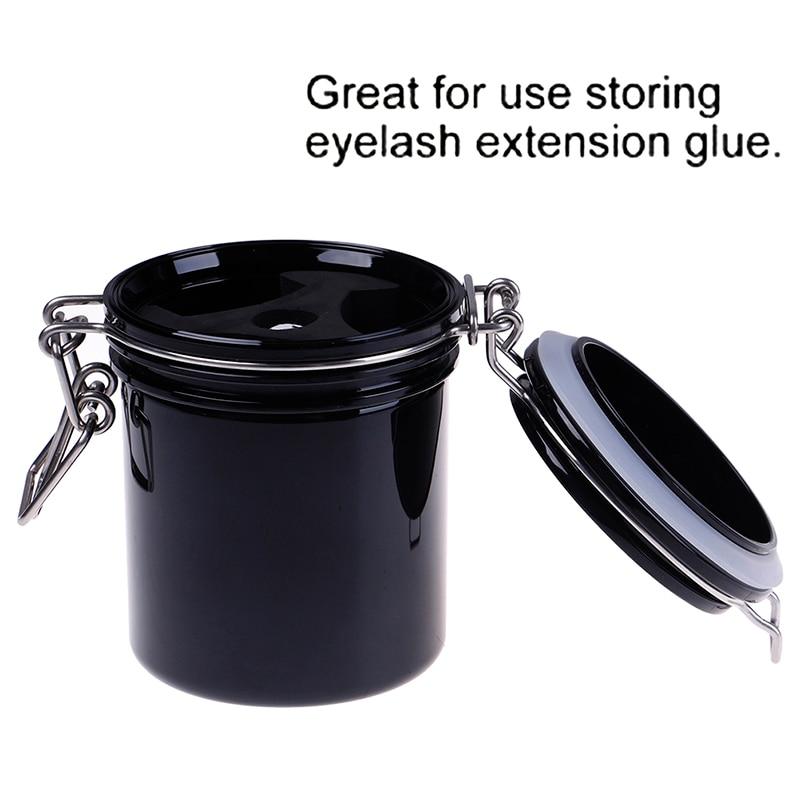 NEW Eyelash Extension Glue Storage Tank Keep DRY And Fresh Activated Carbon Sealsealed Storage CylinderNEW Eyelash Extension Glue Storage Tank Keep DRY And Fresh Activated Carbon Sealsealed Storage Cylinder
