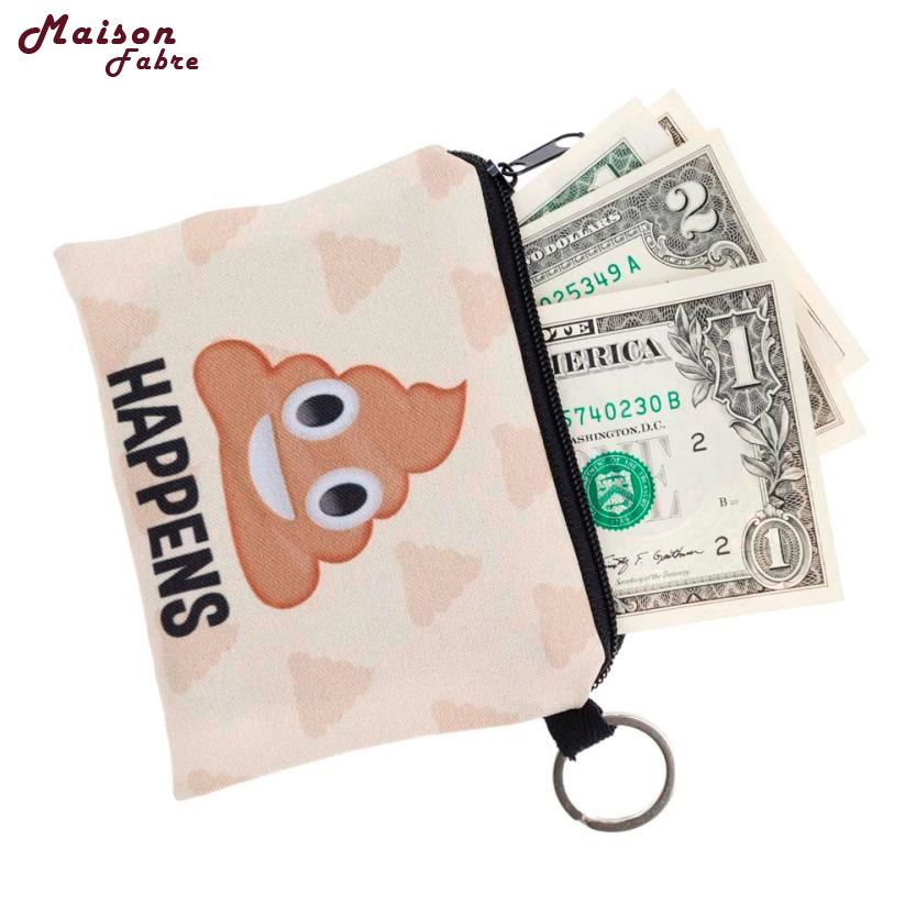 Maison Fabre Jasmine Traveling Girl printing coins change purse Clutch zipper zero wallet phone key bags Sep27 19% high quality women printing coins change purse clutch zipper zero wallet phone key bags 8 color drop shipping wholesale 170215