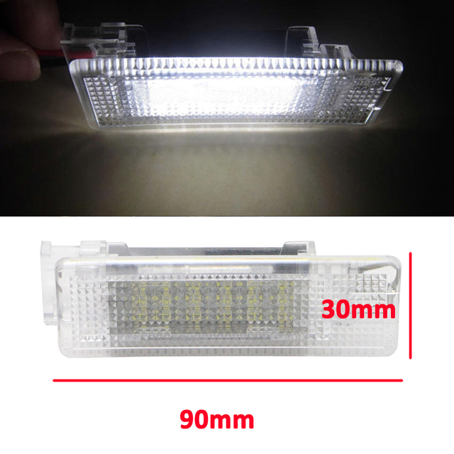 Geen Fout 18 SMD LED Kofferbak Verlichting Bagageruimte Lamp voor VW ...