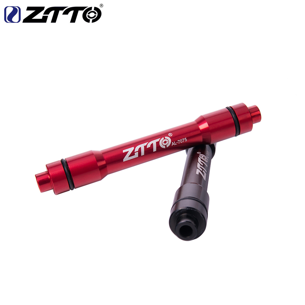 ZTTO MTB Mountain Bike Front Wheel Thru Axle Adapter 15MM Adapter 9MM QR Skewers Bicycle Quick Release hub Bicycle Parts brompton stickers