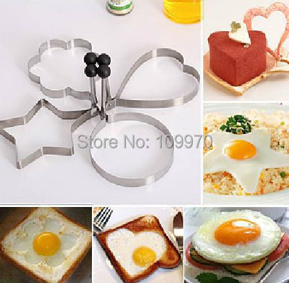 Wholesale Cooking Tools Fried Egg Mold Cake Decorating Tools Kitchen