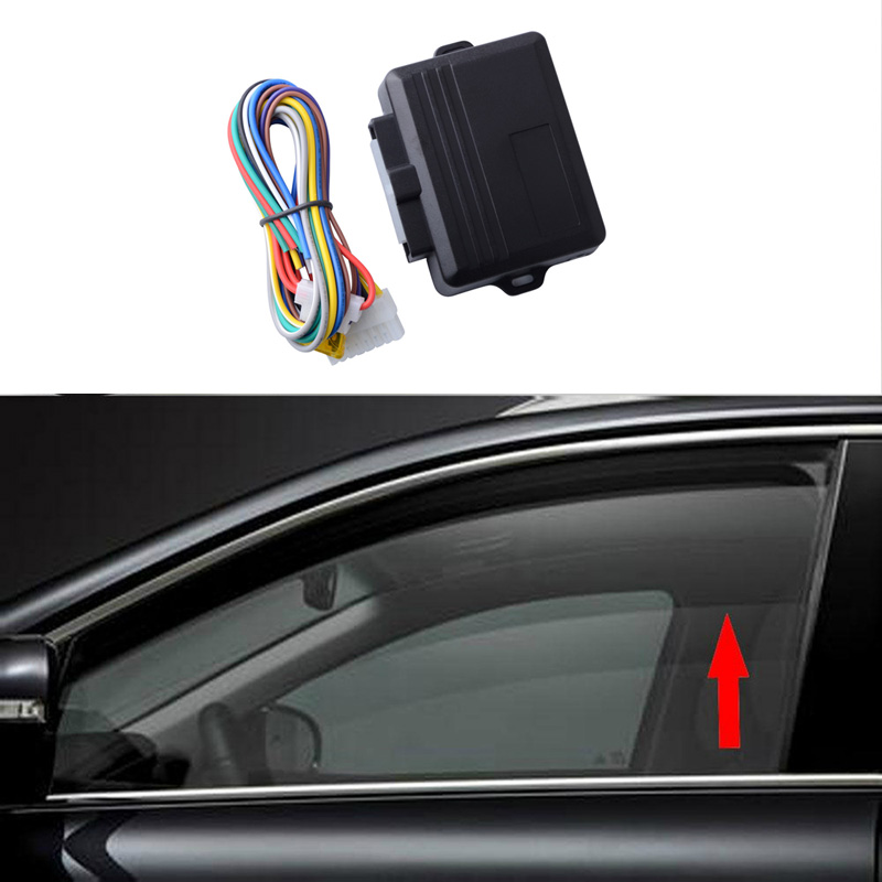 SPEEDWOW Car Power Window Roll Up Closer For 4 Doors Auto Close Windows Remotely Close Windows Car Styling