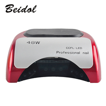 Led Lamp for Nails  HOT  Professional Nail Dryer 48W CCFL UV LED Lampe Nail Dryer for Nail Gel Polish free shipping