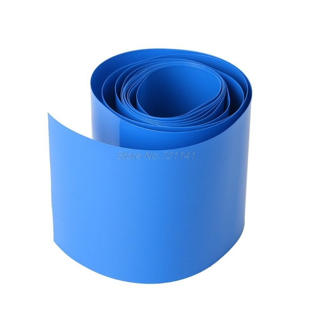 2M Lithium Battery Heat House Shrink Tube Li-ion Wrap Skin 14500 18650 26650 PVC Shrinkable Tubing Film Tape Sleeves Dropship 2