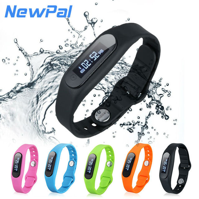 Waterproof Smart Wristband Bracelet E06 Bluetooth 4.0 Passometer Sport Tracking Universal For All Phone For Iphone