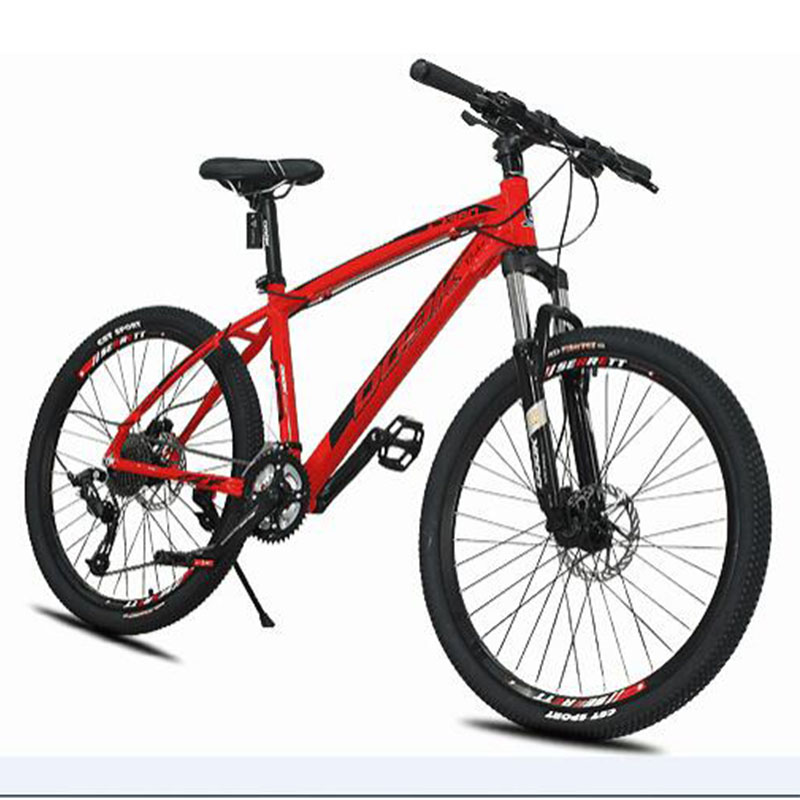 Mountain Bike Bicycle 26 Inch 27 Speed Fat Bike Aluminum Alloy Shifting Suitable For Mountain Areas Safer
