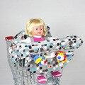 2016 bebé carro de compras carro de bebé cubierta de esteras de coche para niños portátil silla alta de comedor asiento de correas para protección de la alimentación estera