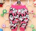 Free Shipping 2016 New Baby Pants Cotton Material Cartoon Design Clothing B056