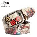 [DWTS] cinturones de marca de lujo de primeras marcas de moda designe de ancho de la cadera de lujo de los hombres correa de cuero genuina mujer 2016 cinto cinturones hombre