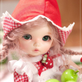 OUENEIFS  fairyland pukifee ante 1/8 bjd sd doll model reborn baby girls boys dolls eyes High Quality toys shop