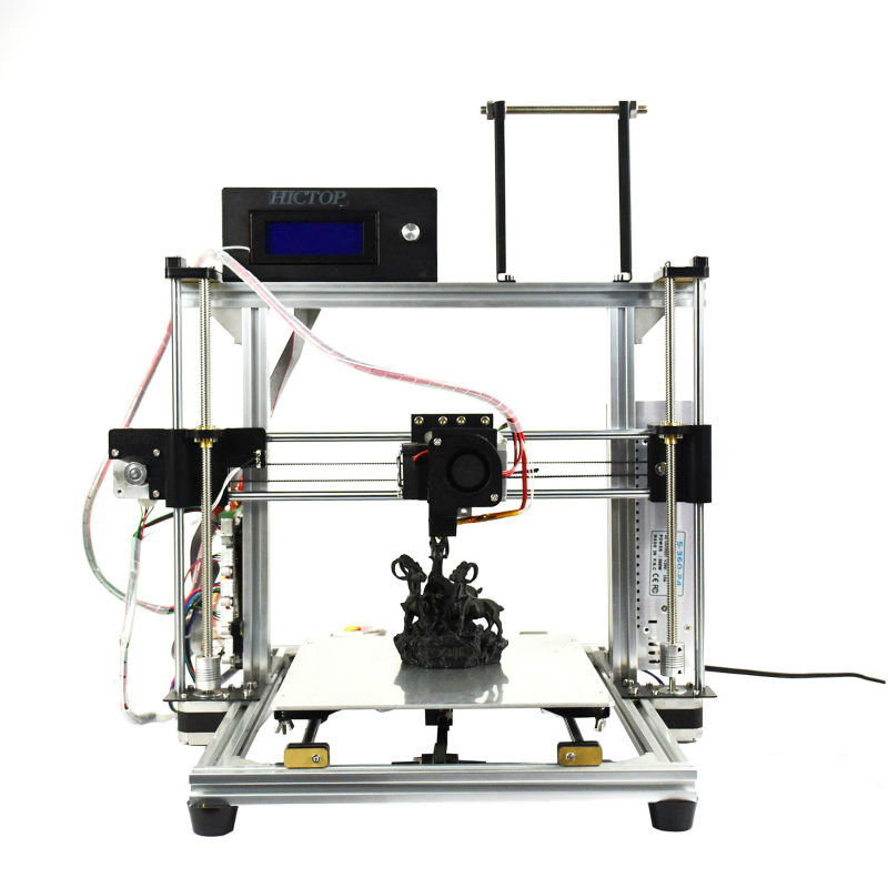 HICTOP Auto-leveling 3D Printer Kit for Sale Max Printing Size 270x210x200mm