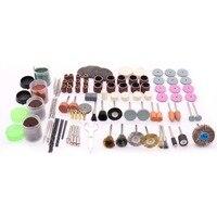 PJLSW 160 teile/satz für Dremel Drill Dreh Werkzeug Zubehör Bit Set für Schleifen Polieren Schneiden Schleif Werkzeuge Kits