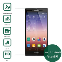 For Huawei Ascend P7 Tempered Glass Display screen Protector 2.5 9h Security Protecting Movie on P7-L10 P7-L00 P7-L05 P7-L11 P 7 4G Lte