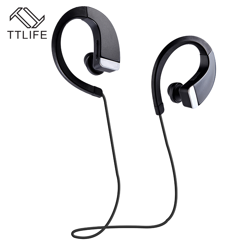 Original TTLIFE Brand Wireless 4.0 Bluetooth Earphone Hands Free Headset with Microphone Earbuds Noise Cancelling Headphones wireless bluetooth headset mini business headphones noise cancelling earphone hands free with microphone for iphone 7 6s samsung