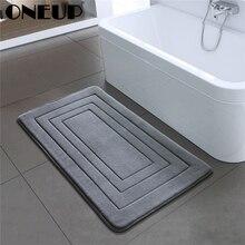 Shower-Carpet Bath-Mat Non-Slip-Mats Bedroom Foam-Rug Kitchen for ONEUP High-Quality