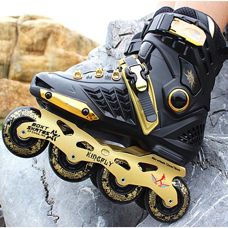 Professional Roller Inline Skate Adult Roller Skating Shoes High Quality Free Style Skating Patins Ice Hockey Skates все цены